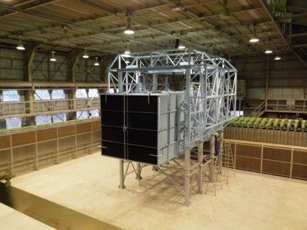 電力会社様向け洋上風力発電設備環境試験用風洞設備