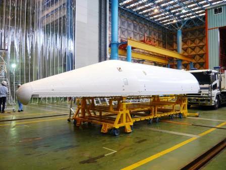 航空・宇宙機運搬架台、治具製造