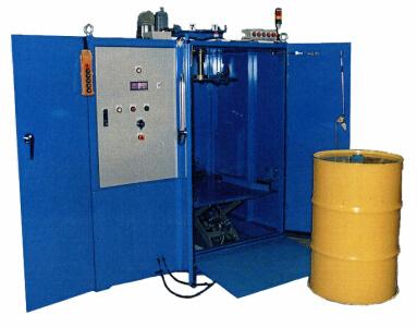 各種放射性廃棄物の除染、減容化装置