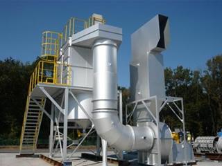 流機エンジニアリングの集塵機開発