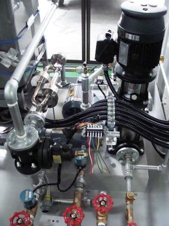 高効率スターティックミキサー内蔵、エマルジョン燃料製造装置