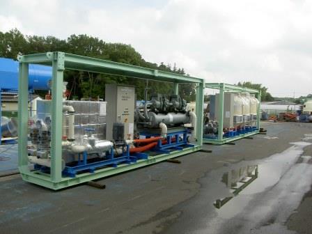 シールド現場の空調・換気制御を兼ね備えたシールドマシン冷却システム