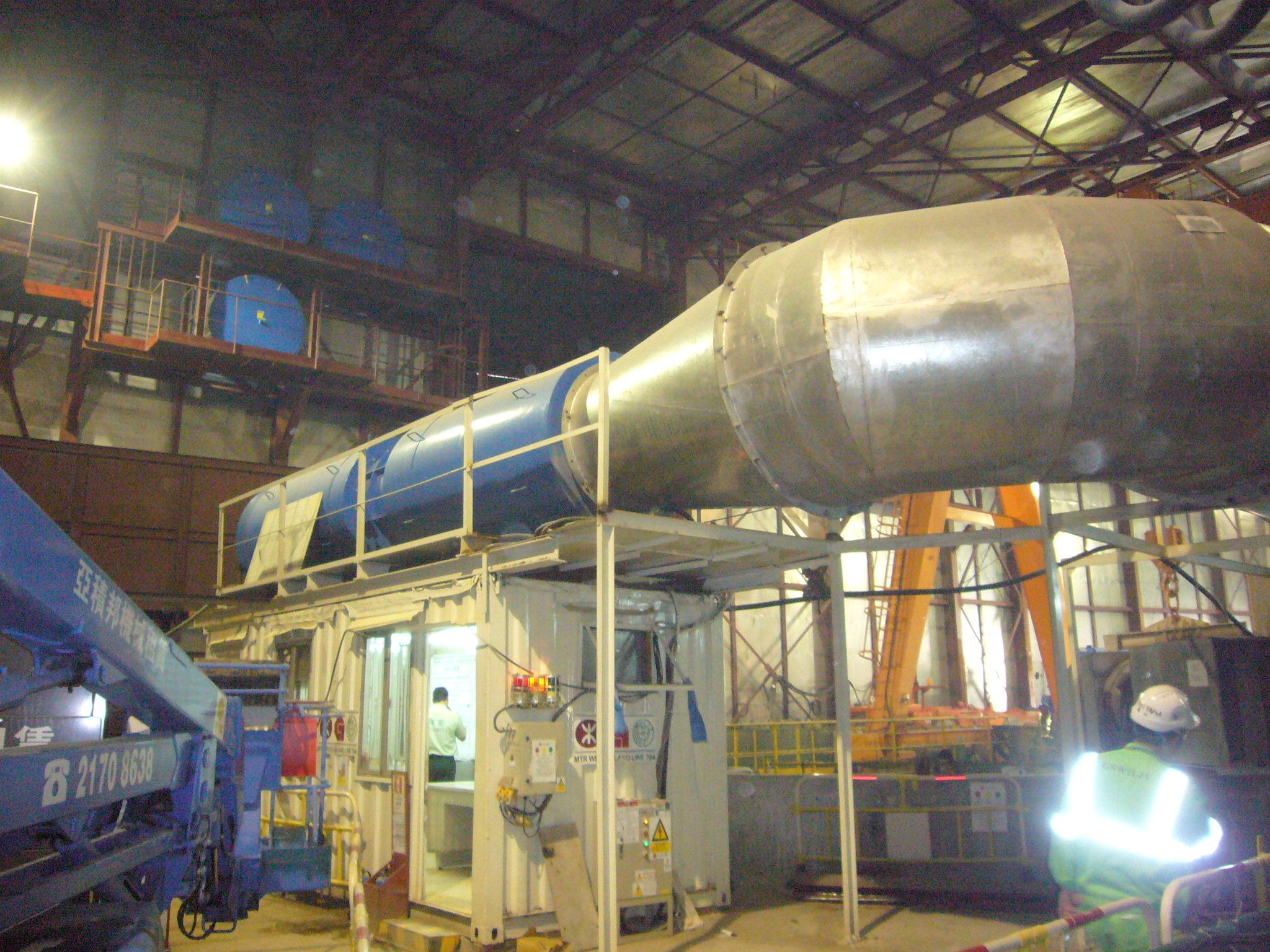 海外シールド向けのシールド形状やマシン性能に合わせた最適な冷却システム