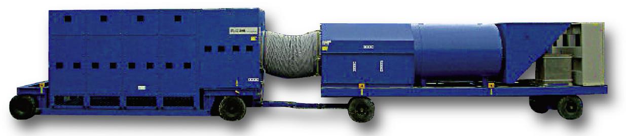 TBM用集塵機TDシリーズ TD-500P
